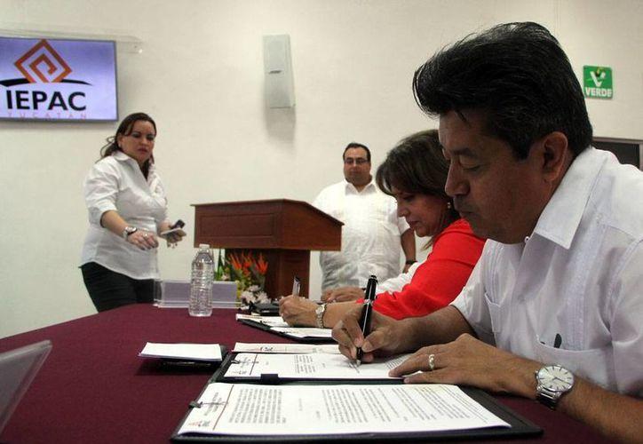 El consejo municipal electoral de Mérida cambió de sede por cuestiones de seguridad, ya que en el anterior local no tenían bóveda para resguardar la papelería electoral. (José Acosta/Milenio Novedades)