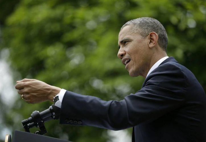 Obama intenta contrarrestar la impresión que crece entre los oponentes de la Casa Blanca. (Agencias)