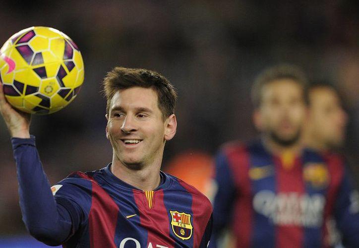 Lionel Messi parte como favorito tras haber conseguido el título de la Liga y la Copa del Rey con el Barcelona. (Manu Fernandez/AP)