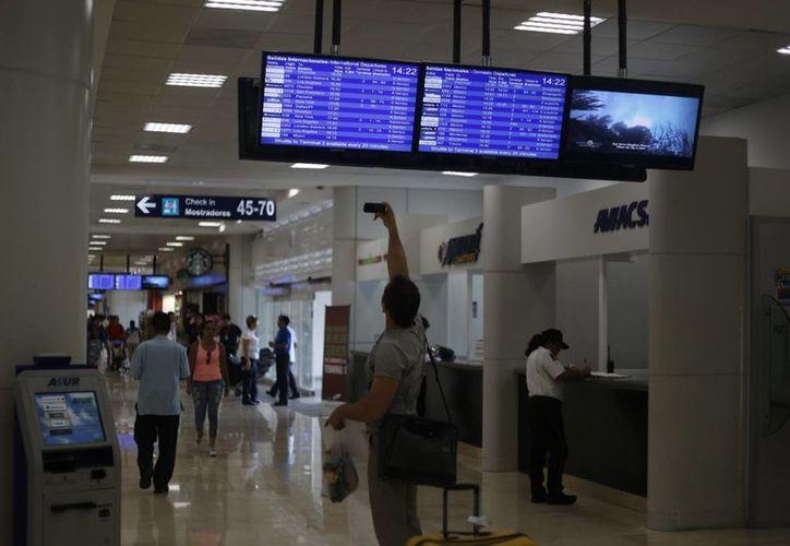 Alianza entre aerolíneas aumentará el arribo de turistas en el aeropuerto. (Israel Leal/SIPSE)