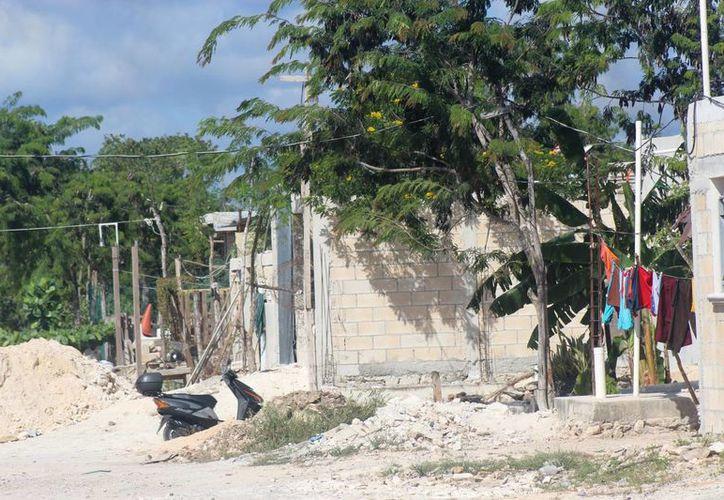 La periferia de la demarcación está plagada de construcciones irregulares. (Foto: Octavio Martínez/ SIPSE)