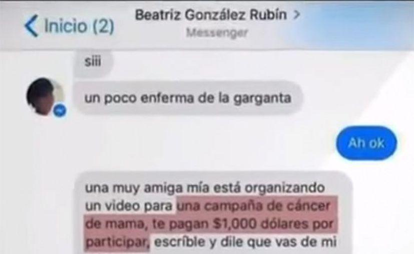 Beatriz González, catedrática de la Universidad Intercontinental, denunció que  hackers usaron su cuenta de Facebook para estafar a sus contactos. (Excélsior)