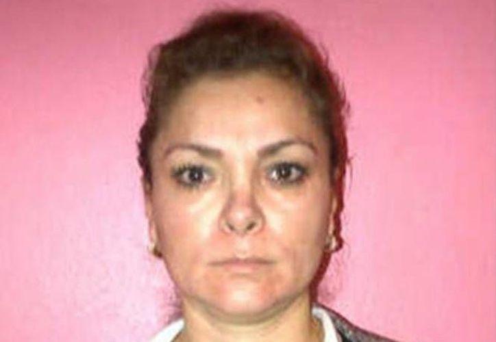 María de los Ángeles Pineda Villa, esposa del exalcalde de Iguala, José Luis Abarca, ambos implicados por la justicia en la desaparición y muerte de 43 estudiantes de Ayotzinapa. (Archivo/excelsior.com.mx)