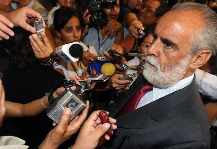 """""""El Pacto en sí mismo es bueno, está dando resultados y frutos"""", declaró Fernández de Cevallos. (politica.com)"""