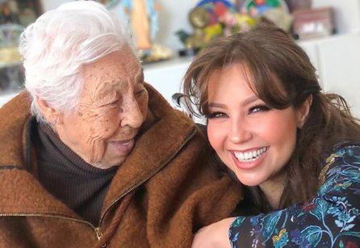 Hasta el momento se desconoce si Thalía se ha puesto en contacto con Doña Eva. (Instagram)