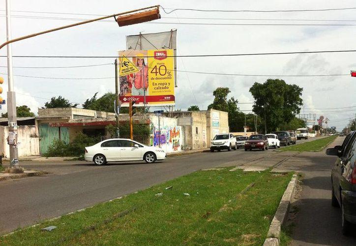 La zona en la que cruzaba el tren en el que el policía vio al descarnado. (Jorge Moreno)