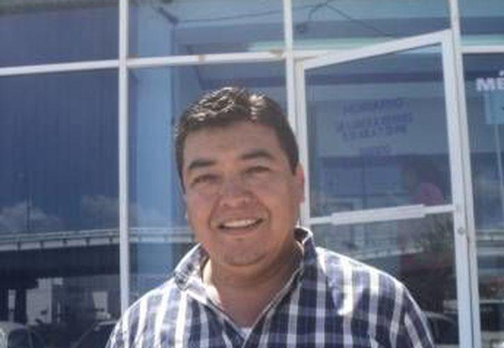 Martín Alfaro Loredo, líder de los comerciantes en Playa del Carmen. (SIPSE)