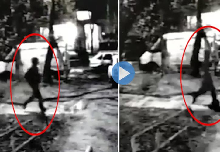 Gracias al sistema de videovigilancia de la ciudad y a señales del celular del adolescente, las autoridades lograron encontrar la casa de Maximov y detenerlo en la propiedad. (The Sun)