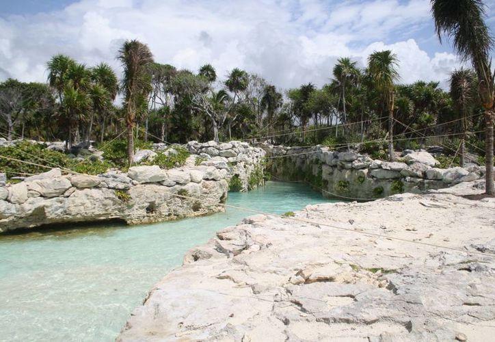Xense, el quinto parque del grupo Xcaret sigue sin fecha estimada de apertura.  (Octavio Martínez/SIPSE)