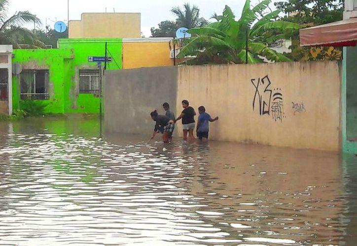 Las constantes lluvias de hace unos días, han ocasionado grandes encharcamientos. (Foto: Daniel Pacheco)