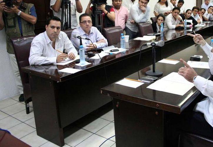 Luis Hevia propuso elaborar el dictamen del segundo paquete. (Milenio Novedades)