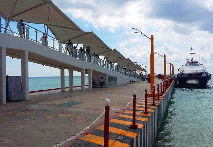Son en total 70 metros lineales lo que medirá el muelle al finalizar el proyecto constructivo. (Daniel Pacheco/SIPSE)