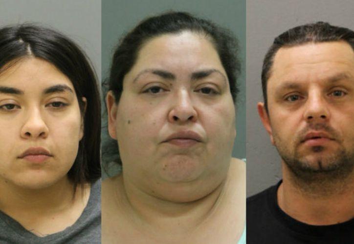 Clarissa Figueroa, su hija Desiree Figueroa y el esposo de esta, están acusados de cometer el terrible crimen. (Internet)