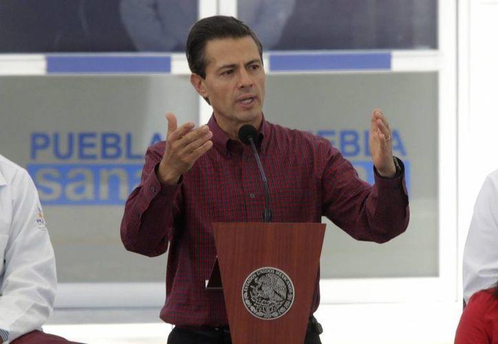 El Presidente de la República encabezó la inauguración de Hospital de Traumatología y Ortopedia en la ciudad de Puebla. (Notimex)