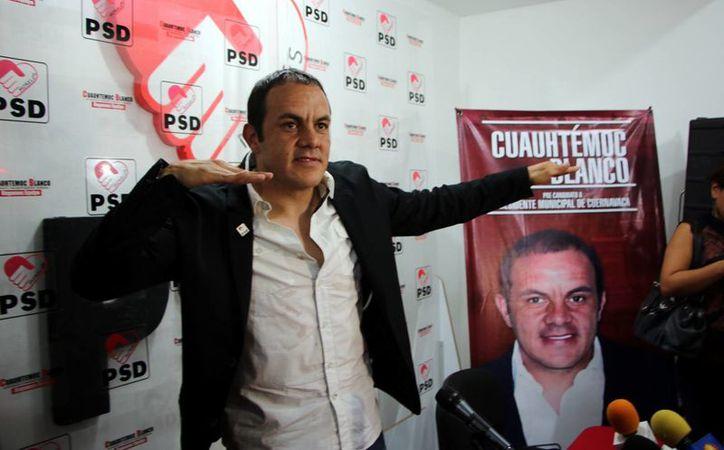 Cuauhtémoc ha insistido ha insistido en que el PSD falsificó su firma en el supuesto contrato para ser candidato. (Foto tomada de PSD)