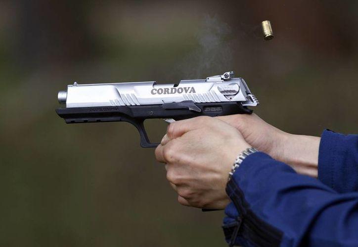 """La pistola de 9 mmm fue llamada """"Córdova"""" en homenaje al prócer de la independencia colombiana José María Córdova. (Agencias)"""