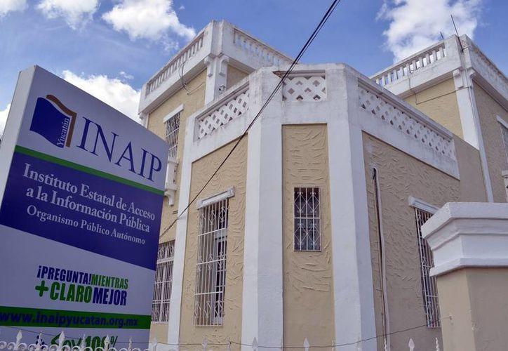 Susana Aguilar Covarrubias, la nueva consejera del Inaip. En la foto la sede del dependencia en Yucatán. (Milenio Novedades)