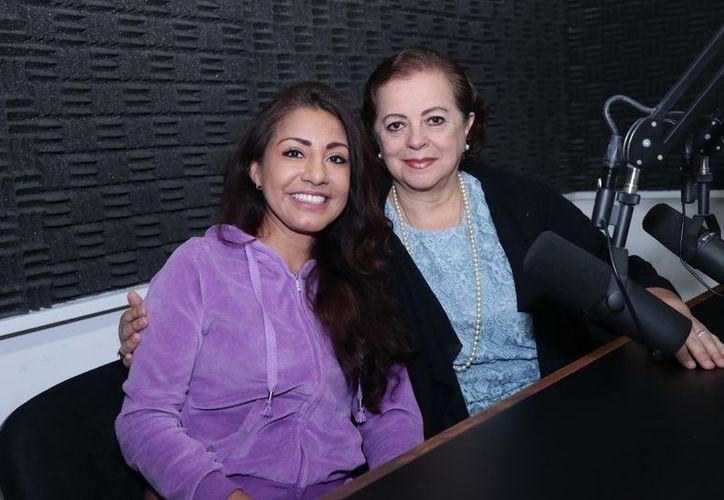 Guadalupe Gallareta y Esperanza Nieto. (SIPSE)