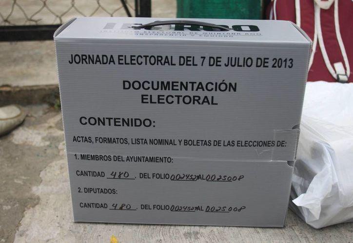 Son alrededor de 18 mil boletas electorales las que serán reimpresas. (Harold Alcocer/SIPSE)