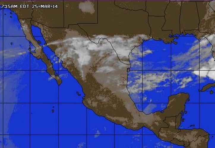 La entrada de aire marítimo tropical con poco contenido de humedad ocasiona el clima caluroso. (accuweather.com)