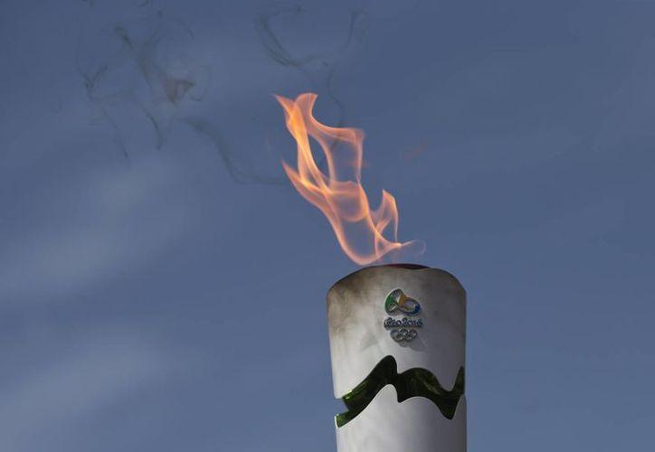 El pebetero olímpico estará ubicado en el centro de Río de Janeiro, así lo dio a conocer el vocero oficial de las olimpiadas. (AP)