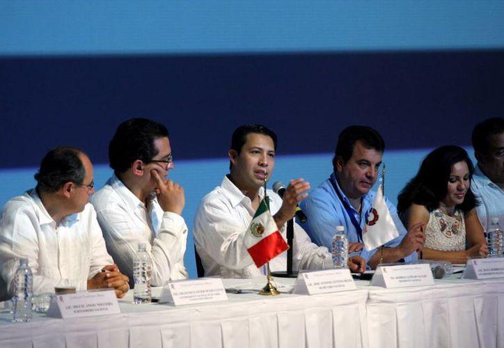 Dirigentes de la Canacintra dieron a conocer ayer las conclusiones de su reunión nacional. (Milenio Novedades)