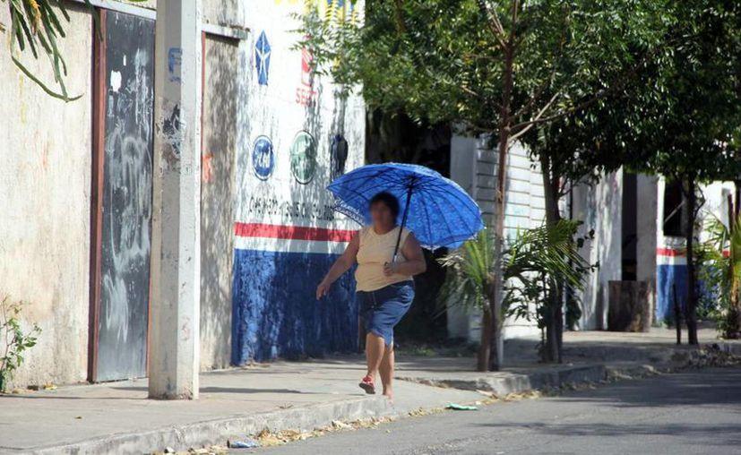 Se esperan temperaturas de hasta 38 grados en el estado. (Novedades Yucatán)