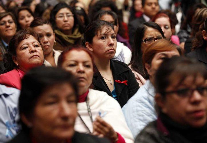 Al menos 10 países del mundo refrendaron su apoyo a las mujeres. (Archivo/Notimex)