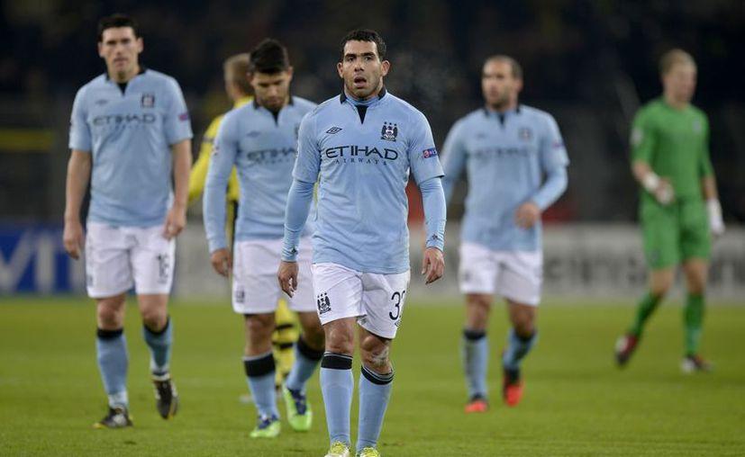 Los 'Citizens' cayeron 1-0 ante el Borussia Dortmund. (Foto: Agencias)