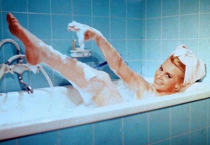 Posó desnuda para la revista  Playboy en la edición de noviembre del mismo año en que salió la película. (Foto: Excélsior)