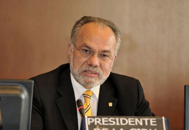 José de Jesús Orozco dijo que la decisión final se tomará hasta el 2014. (oas.org)