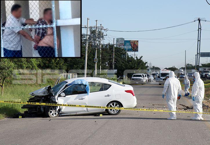 El homicida del policía se encuentra detenido. (SIPSE)