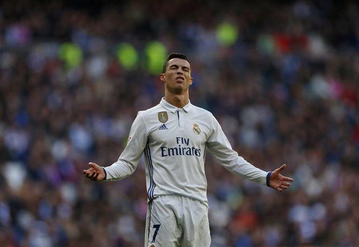 La semana anterior, Cristiano Ronaldo tampoco tuvo participación en el juego de ida ante Sevilla, debido a que Zidane le dio descanso.(Francisco Seco/AP)