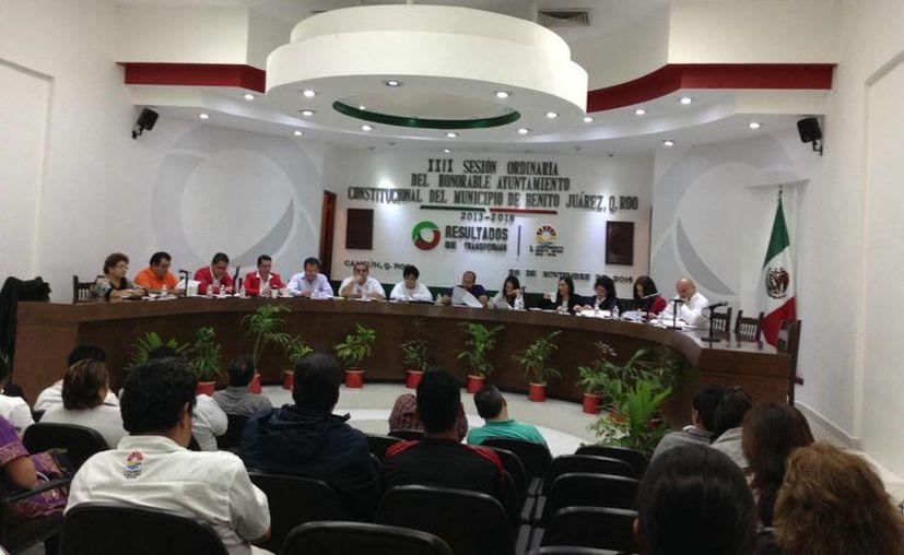 La iniciativa se aprobó ayer en la Vigésima Novena Sesión Ordinaria de Cabildo. (Tomás Álvarez/SIPSE)