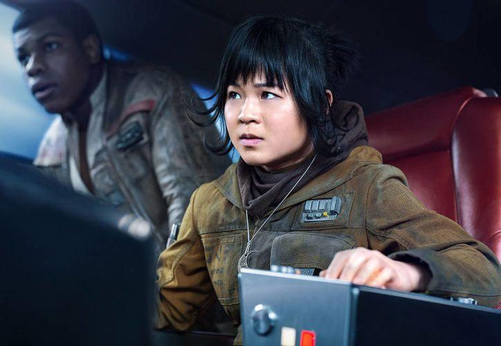 "Kelly Marie dio vida a Rose Tico en ""Star Wars: The Last Jedi"". (Internet)"