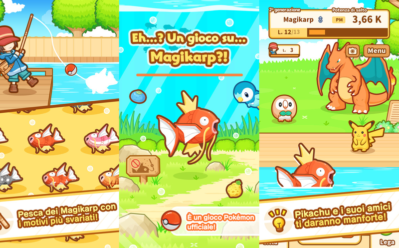 Magikarp Jump se convierte en un éxito de videojuegos para móviles