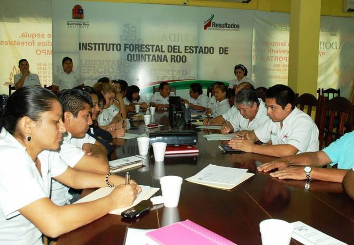Las pláticas fueron impartidas en las instalaciones del Instituto Forestal de Quintana Roo. (Cortesía/SIPSE)