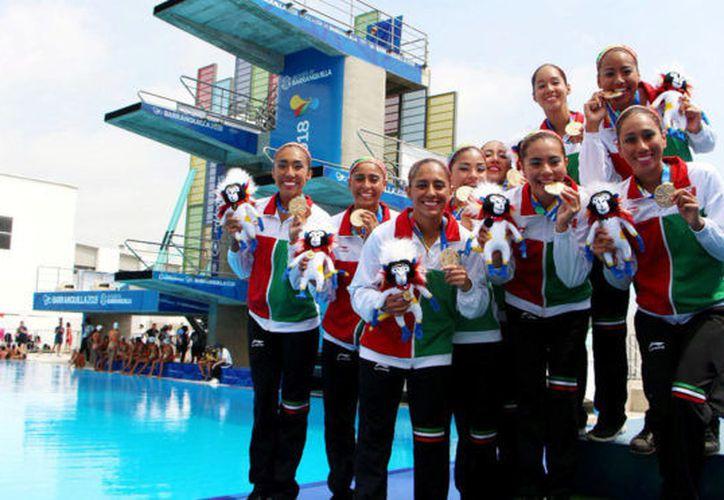 Los atletas mexicanos han logrado ganar 120 medallas de oro en los Juegos Centroamericanos. (Marca)