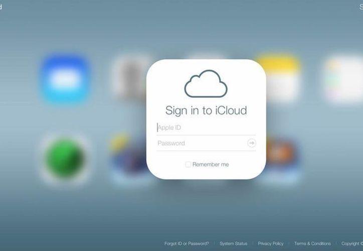 Usuarios de Twitter indicaron que la herramienta para hackear cuentas de iCloud efectivamente funciona. (Captura de pantalla/iCloud)