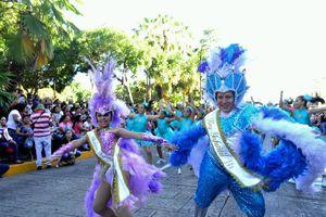 Breve pero emocionante Desfile Infantil de Carnaval de Mérida
