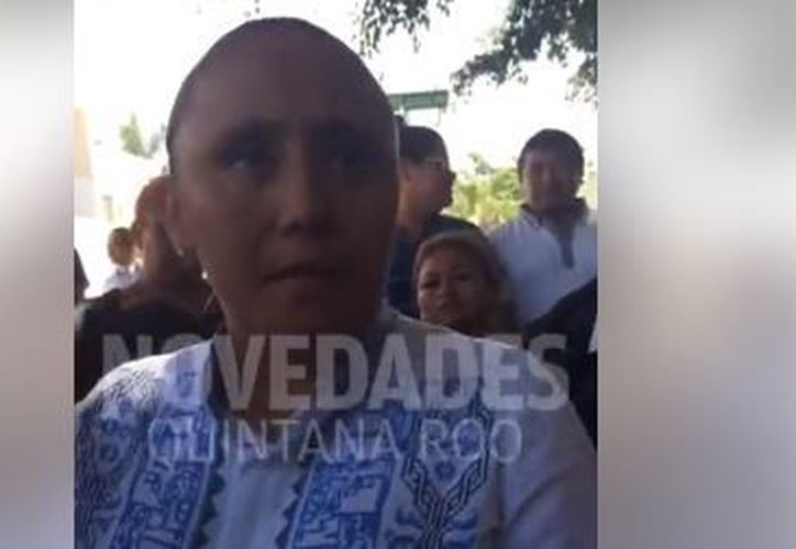 Cristian Torres Gómez, candidata de Por México al Frente en Playa del Carmen. (Adrián barreto/SIPSE)