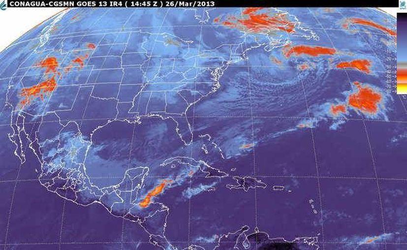 Soplarán vientos del norte y noreste de 30 a 50 km/h con rachas y oleaje ligeramente alto. (smn.cna.gpb.mx)