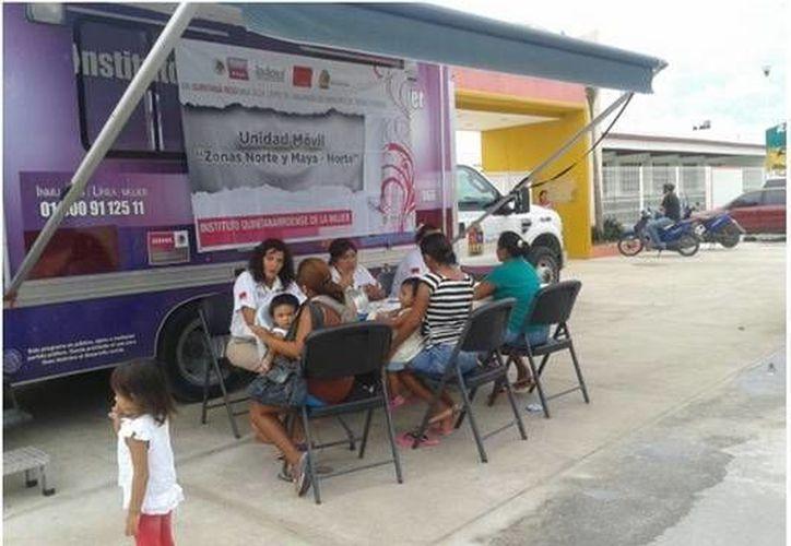 El IQM tiene en el estado siete unidades de atención, dos móviles en el norte y sur, dos itinerantes para zonas rurales y tres fijas en Benito Juárez, Othón P. Blanco y Solidaridad. (Redacción/SIPSE)