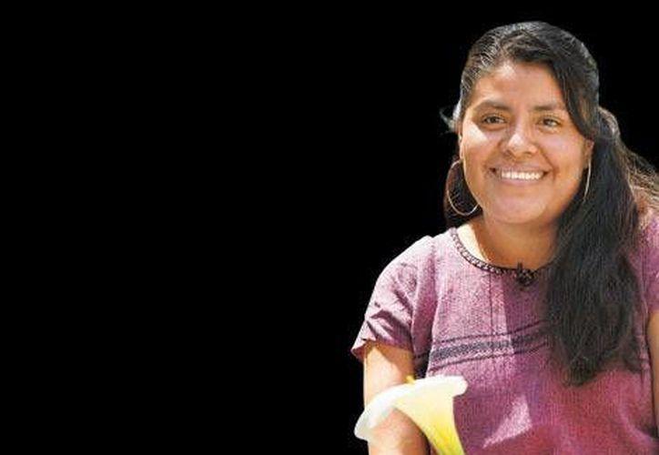 La diputada Eufrosina Cruz pugna porque a las mujeres indígenas se les permita votar y ser votadas. (Milenio)