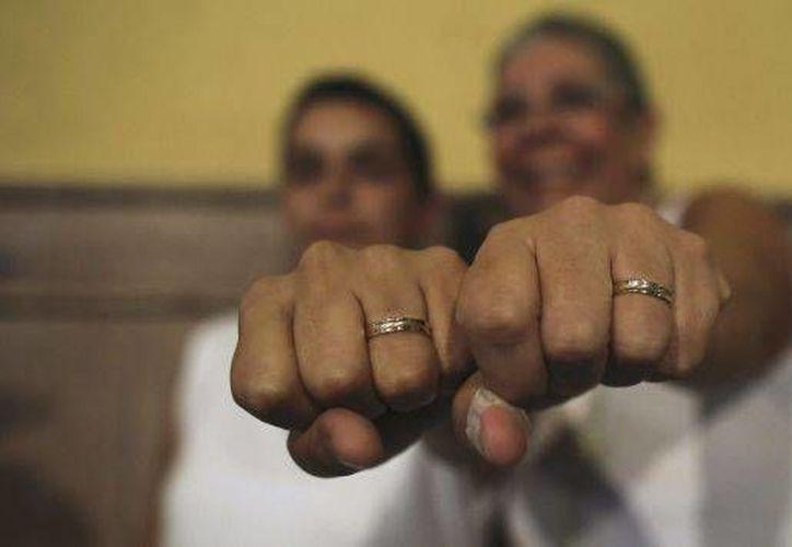 Organizaciones de la comunidad Lésbico-Gay aseguran que  la iniciativa del Ejecutivo federal en materia de matrimonios igualitarios, no influyó en los resultados electorales del 5 de junio. (Archivo)
