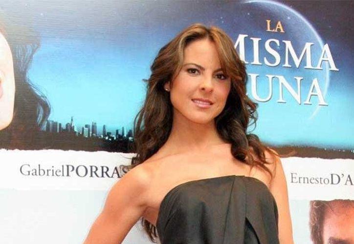 Kate del Castillo se reunirá con Joaquín Guzmán Loera, con la intención de continuar con el proyecto de la película del peligroso capo.(Archivo/AP)