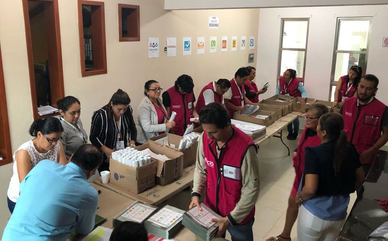 A partir del 23 de junio dará inicio la distribución  de paquetes electorales a los presidentes de las mesas directivas de casilla. (Joel Zamora/SIPSE)