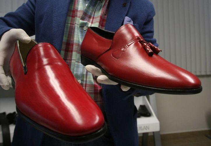 Los zapatos mexicanos regalados al Papa son 100% artesanales. (Agencias)
