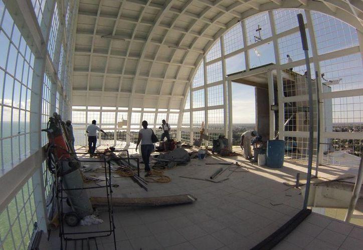 La construcción del recinto finalizará a mediados de diciembre. (Foto: Eddy Bonilla)