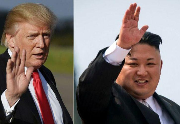 Trump ya había lanzado dudas sobre la fecha de su encuentro con el líder norcoreano. (T13)